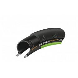 Cubierta Continental Ultra Sport II Negro-Verde 700x25c
