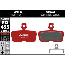 Pastillas Freno Galfer Advanced Avid/Sram Code R 2011 / Guide RE