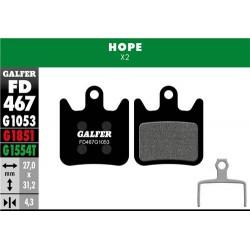 Pastillas Freno Galfer Standard Hope X2