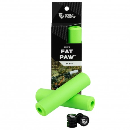 Puños Wolf Tooth Fat Paw Silicona Verde