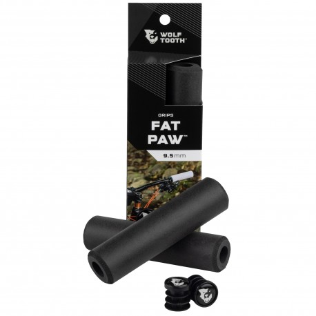 Puños Wolf Tooth Fat Paw Silicona Negro