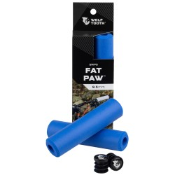 Puños Wolf Tooth Fat Paw Silicona Azul