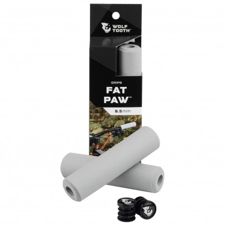 Puños Wolf Tooth Fat Paw Silicona Gris