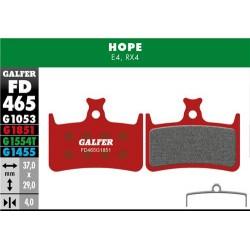 Pastillas Freno Galfer Advanced Hope E4, RX4