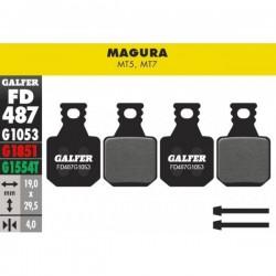 Pastillas Freno Galfer Standard Magura MT5, MT7