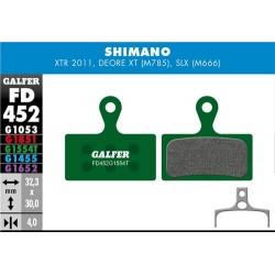 Pastillas Freno Galfer PRO Shimano XTR, XT (2014-), Deore XT BR-M875, SLX M666