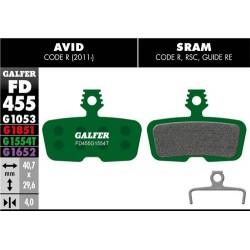 Pastillas Freno Galfer PRO Avid/Sram Code R 2011 / Guide RE
