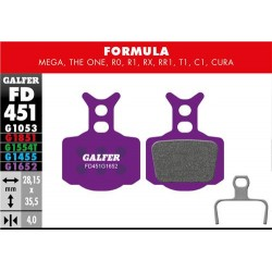 Pastillas Freno Galfer E-Bike Formula Mega, The One, R0, R1, RR1, T1, C1, Cura