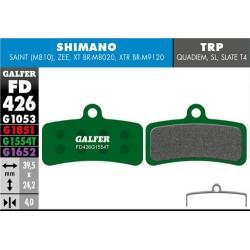 Pastillas Freno Galfer PRO Shimano Saint, Zee, XT BRM8020, XTR BRM9120 (4p)