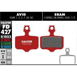 Pastillas Freno Galfer Advanced Avid/Sram Elixir 1,3,5,7 XX, X0 / DB, Level, T,TL