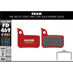 Pastillas Freno Galfer Advanced Sram HDR, Red 22, Force, Rival, Level TLM & Ultimate