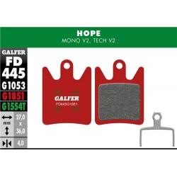 Pastillas Freno Galfer Advanced Hope Mono V2, Tech V2