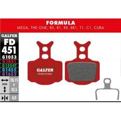 Pastillas Freno Galfer Advanced Formula Mega, The One, R0, R1, RR1, T1, C1, Cura