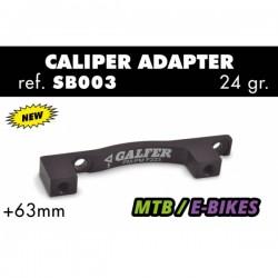 Adaptador de Disco Galfer Post Mount +63mm