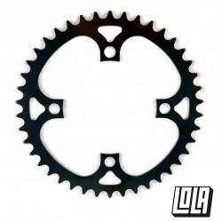 Monoplato LOLA E-Bike 104BCD Acero Negro