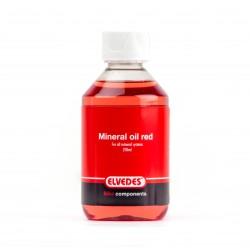 Aceite de Frenos Mineral Elvedes 250ml Shimano Rojo