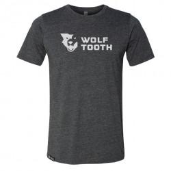 Camiseta Wolf Tooth Strata Logo Charcoal