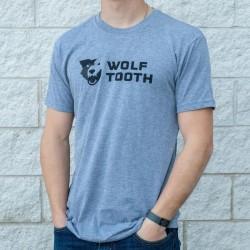 Camiseta Wolf Tooth Strata Logo Gris