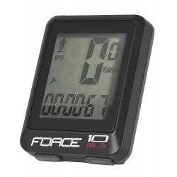 Cuentakilometros Force 10 funciones