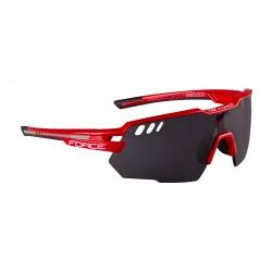 Gafas Force Amoledo Rojo-Gris