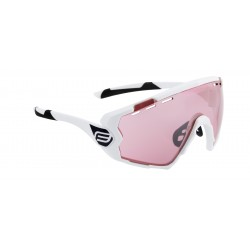 Gafas Force Ombro Blanco lente Rosa Laser