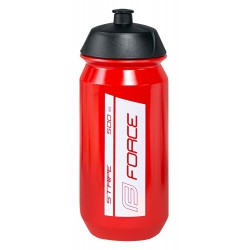Bidon Force Stripe Rojo-Blanco 500ml