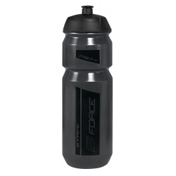 Bidon Force Stripe Transparente-Gris 750ml