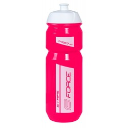 Bidon Force Stripe Rosa-Blanco 750ml