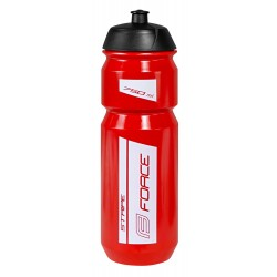 Bidon Force Stripe Rojo-Blanco 750ml