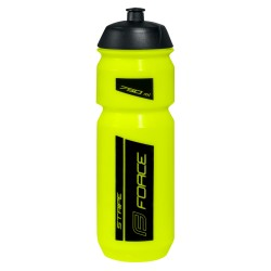 Bidon Force Stripe Amarillo-Negro 750ml
