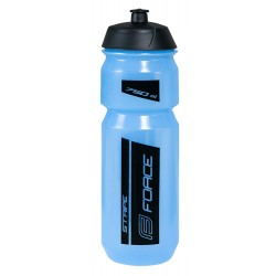 Bidon Force Stripe Transparente Azul-Negro 750ml