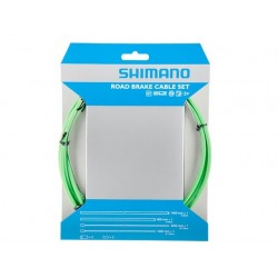 Kit Cables y Fundas Shimano Freno Verde